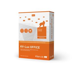 KV-Lux OFFICE für Vermittler, Vertriebe und Pools
