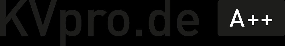 KVpro Logo Wortmarke
