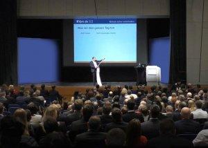 Gerd Güssler im Vortrag: Bei der DVAG (Fiderstadt)